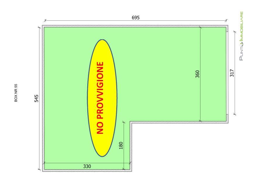 Box/auto vendita BRINDISI (BR) - 1 LOCALI - 15 MQ
